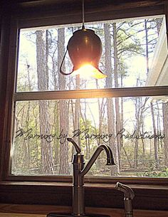 Morning by Morning Productions: Simple DIY Pendant Light