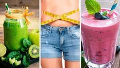 Fat-burning cocktails – types that will delight you – step to health - Detox dinner Fat Burning Smoothies, Fat Burning Foods, Detox Tips, Detox Recipes, Types Of Cocktails, Green Juice Recipes, Fat Flush, Best Detox, Diet Plan Menu