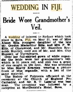I spent last Saturday attending a family wedding in Fiji. When you read this post I will be winging my way home after this celebration. Fiji, Family History, Celebration, Blog, Wedding, Valentines Day Weddings, Blogging, Weddings, Marriage