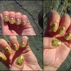 GleeTree92: Nail Art: Studded Fall