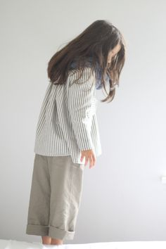Monday Outfit: Stripes + Khaki – Sanae Ishida