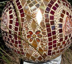 """Taj MaBall"" by Doreen Bell Mosaic, via Flickr"