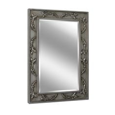Classic Scroll Antique Nickel Wall Mirror (1048)