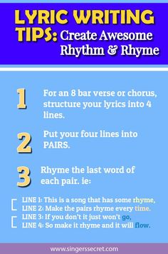 how to write a song for beginners How to write song lyrics you can have the best song melody in the world, but if your lyrics aren't good, it can drag down your whole song whether you're just the lyrical type or you want.