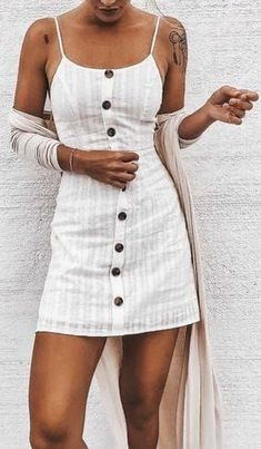 + Die meisten neu gestalteten Sommeroutfits The Definite Guide Vol. 1 No. - clothes and shoes - Modetrends Spring Outfits, Trendy Outfits, Cute Outfits, Summer Vacation Outfits, Cute Dresses, Casual Dresses, Summer Dresses, Summer Clothes, Girl Fashion
