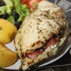 Feta & Bacon Stuffed Chicken