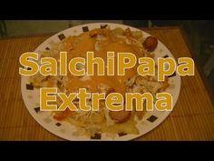 Salchipapa Extrema, cocinando con gloria  #CocinaColombiana  #Gastronomia  #Salchipapa  #Cocina