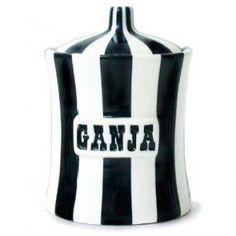 Jonathan Adler Ganja ceramic jar