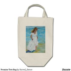 What a pretty painting! Promise Tote Bag by Sacred_Dance