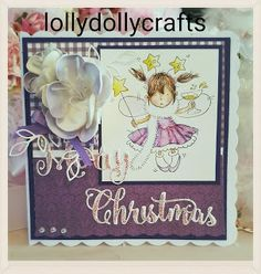 For full details of how this pretty card was made please see our challenge blog
