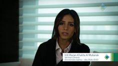 E Razan Khalifa Al Mubarak, Secretary General, Environment Agency – Abu Dhabi (EAD).E Razan leads the organisation in achieving its mandate of protecting… Environment Agency, Environmental Pollution, Abu Dhabi, Secretary, Interview, Thoughts, Projects, Blue, Organization