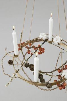 LYS VINTAGE   Candle Holder Circle Adventskranz   Shop
