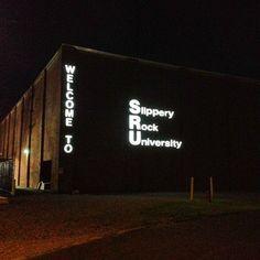 Slippery Rock University in Slippery Rock, PA