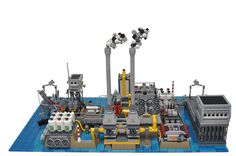 Your support would be greatly appreciated! lego.cuusoo.com/ideas/view/24094 This Moc was created in academic way to show how complicated the process of desalination of sea water and how best to preserve our natural sources of freshwater. This project does not follow strictly the original design but serves to draw attention to the care of the water. Desalination, desalinization, or desalinisation refers to any of several processes that remove some amount of salt and other minerals from ...