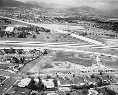 The Laurel Drive-In, Pacoima (1964) Looking East
