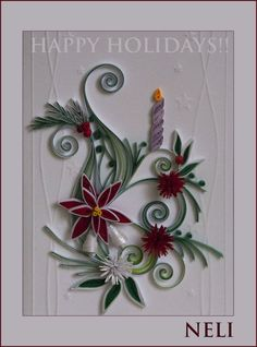 Neli Quilling Art: Happy Holidays!!!