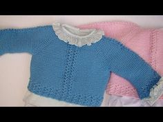 JERSEY DE BEBÉ CARLITOS I also English pattern - YouTube Knitting For Kids, Crochet For Kids, Baby Knitting, Knit Crochet, Cardigan Bebe, Baby Cardigan, Princesa Charlotte, Knit Baby Sweaters, Kids And Parenting