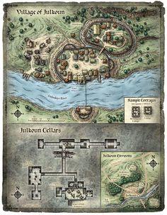Scourge of the Sword Coast; Village of Julkoun (Digital)