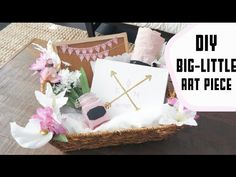 Each video is a piece from the Big/Little Gift Basket I'm creating. After you watch this video, check out the other parts down below :) ➫ Step by step instru...