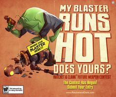 Captain Qwark: My Blaster Runs Hot
