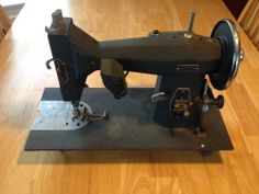Kenmore Vintage Sewing Machine Deluxe Rotary 117.552 produced in 1954 (Just added one to my collection)