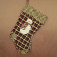 kit with everything you need to make this snowman ragged stocking  $7.99
