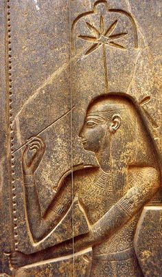 """Seshat (Sesha, Sesheta) was the goddess of writing and record whose name means """"the one who writes."""" She was the patroness of all types of writing. She was also the """"mistress of the house of books"""" and that is why she watched on libraries temples which she had designed the plans.Elle also bore the title """"mistress of the house architects """"because it was closely linked to ritual cord ("""" pedj shes """") that was used to define the location of a temple at its foundation."""