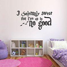 Harry Potter Wall Sticker - I Solemnly Swear quote, http://www.amazon.co.uk/dp/B00XKYPKKS/ref=cm_sw_r_pi_awdl_OWAcwb16SZZV7