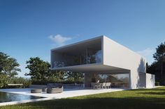 fransilvestrearquitectosNEW PROJECT. House on the lake. Casa en el lago #FranSilvestreArquitectos #Valencia #spain #architecture #arquitectura #archidaily #architect #arquitecto #design #mediterranean #white #bluehour #light #minimal #building #lifestyle #archilovers #architecturelovers #architecture_hunter #instagood #render #rendering #visualization #cgartist #archviz #next_top_architects #nextarch