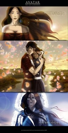 While I don't like the statement, it is true that loosing mothers that they highly adored is something that Katara and Zuko have in common.