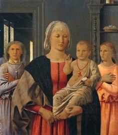 Piero della Francesca, Madonna di Senigallia, 1474