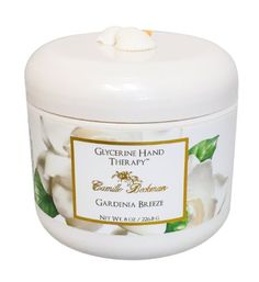 Camille Beckman Glycerin Hand Therapy, Gardenia Breeze, 8 Ounce