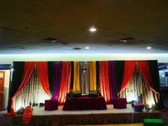 Authentic Pakistani mehndi decor — Lahore-themed wedding, Punjabi wedding by Aisha's Wedding Decor