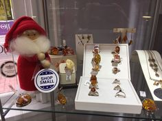 Amber jewelry from the Baltic is one of Ingrid's favorites. We have a large selection waiting for you!