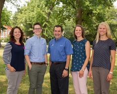 Our Doctors: Dr. Anna Migneco, Dr. Erin Willis, Dr. Edward Migneco, Dr. Betsy Marziani, Dr. Claire Beckmeyer (Left to Right)