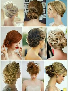 Hairstyles For Long Hair Backless Dress : ... hair ideas wedding hair hairstyles bridesmaid hair hair styles wedding