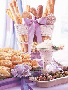 lilac + baguettes!
