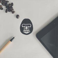 @StudioPublica Gorilla Illustration