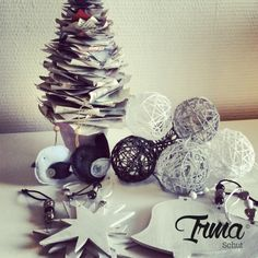 Zelfgemaakte kerst decoraties