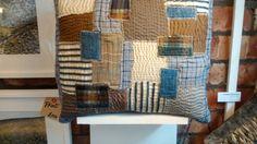 Patchwork cushion idea
