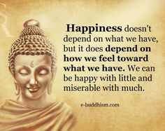 Be happy with little