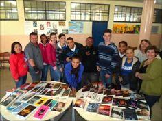 Sala de Leitura - Diretoria de Ensino de Jales - Município de Palmeira D'Oeste - Escola Orestes Ferreira de Toledo.