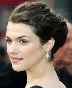 Rachel Weisz French Twist Updo - All For Hairstyles Rachel Weisz, Latest Haircuts, Haircuts For Long Hair, Elegant Hairstyles, Bride Hairstyles, Hairstyles 2016, Party Hairstyles, Divas, Cool Hair Designs