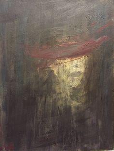 اى عشق چهره ى سرخ ات پيدا نيست...  صبا گلباز اكرليك روى بوم خرداد ٩٤  Saba Golbaz Acrylic on canvas