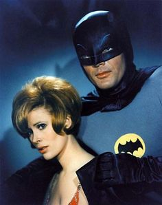 """Jill St. John and  Adam West starred together in the very first episode of the Batman television series in 1966. She played the Riddler's moll """"Molly"""". She was the only female to be killed off during the entire series!"""