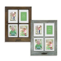 4-Opening Windowpane 18.5-Inch x 25-Inch Collage Frame - BedBathandBeyond.com