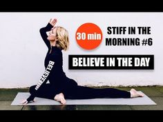 ✔️ 30 MIN MORNING YOGA // Focus, Strength, Tone, Flexibility // Stiff In The Morning #6 Regents Canal - YouTube