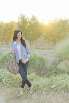 chic: casual suiting
