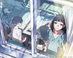米山舞 さんのイラスト Manga Anime, Manga Art, Anime Style, Kawaii Anime, Totoro, Wie Zeichnet Man Manga, Manga Drawing Tutorials, Anime Artwork, Animes Wallpapers