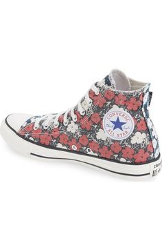 Converse Chuck Taylor® All Star® Andy Warhol Collection High Top Sneaker (Men) Converse Men, Converse Hightops, Converse Chuck Taylor All Star, Andy Warhol, High Top Sneakers, Nordstrom, Sporty, Visual Arts, Organizations